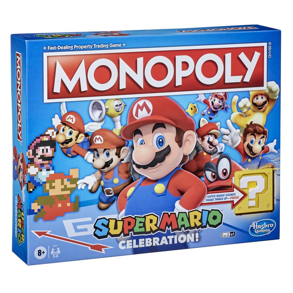 Monopoly Super Mario Celebration-editie bordspel