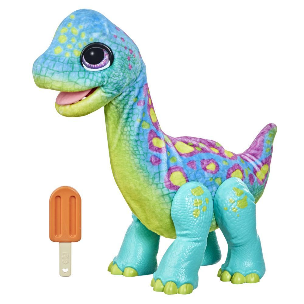 furReal Snackin' Sam de Brontosaurus