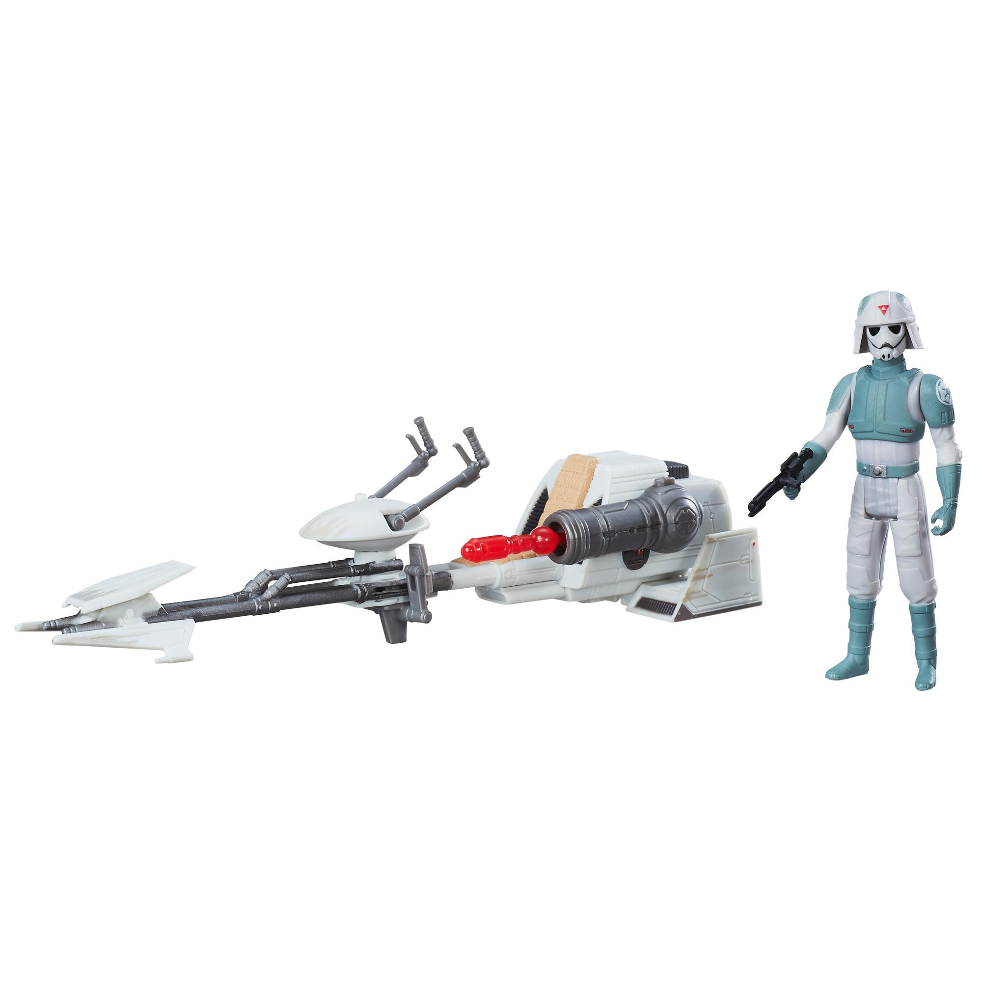 Star Wars Rebels AT-DP Pilot and Imperial Speeder
