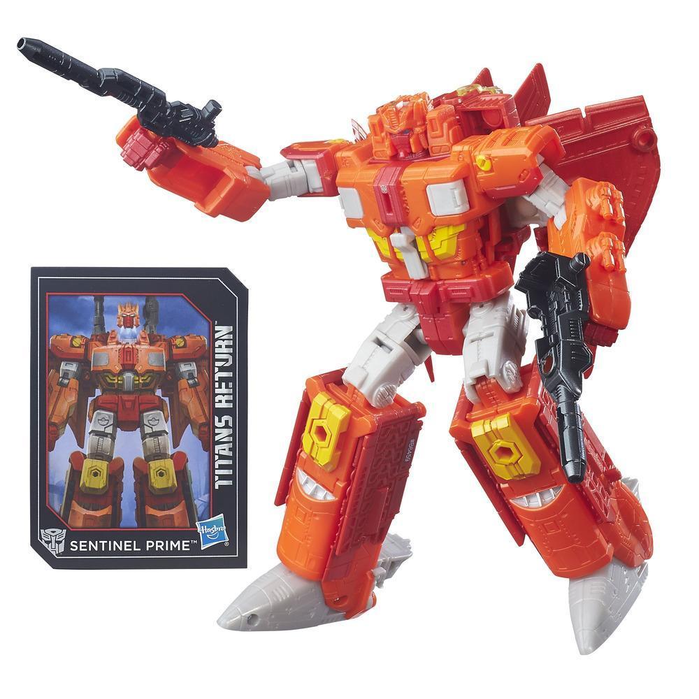Transformers Generations Titans Return Autobot Infinitus and Sentinel Prime