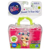Littlest Pet Shop Glitterdiertjes in Koffer