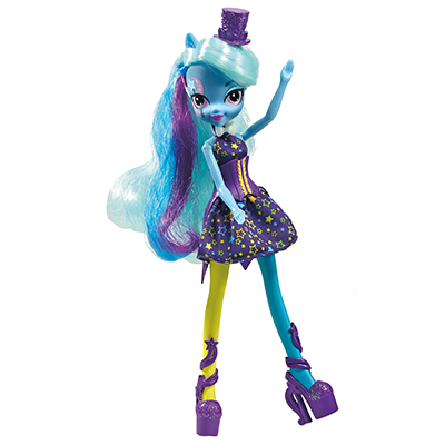 My Little Pony Equestria Girls Rainbow Rocks Trixie Lulamoon met kleding