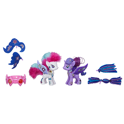 My Little Pony Pop Rarity en Prinses Luna Deluxe Style Kit