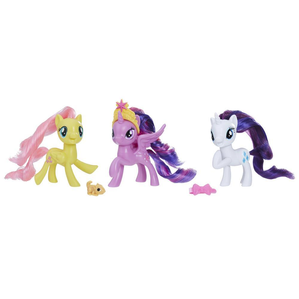 My Little Pony Equestria Friends Twilight Sparkle, Rarity, and Fluttershy