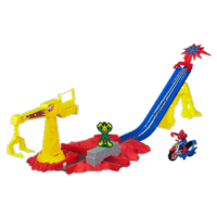 Playskool Heroes Marvel Super Hero Adventures Spider-Man Crane Capture Track Set