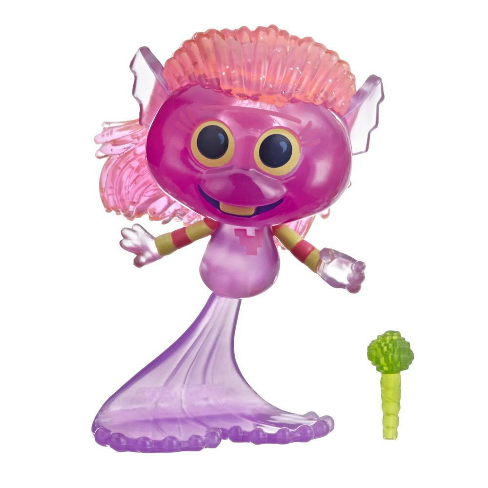 DreamWorks Trolls World Tour Mermaid, Doll Figure with Microphone Accessory, Toy Inspired by the Movie Trolls World Tour