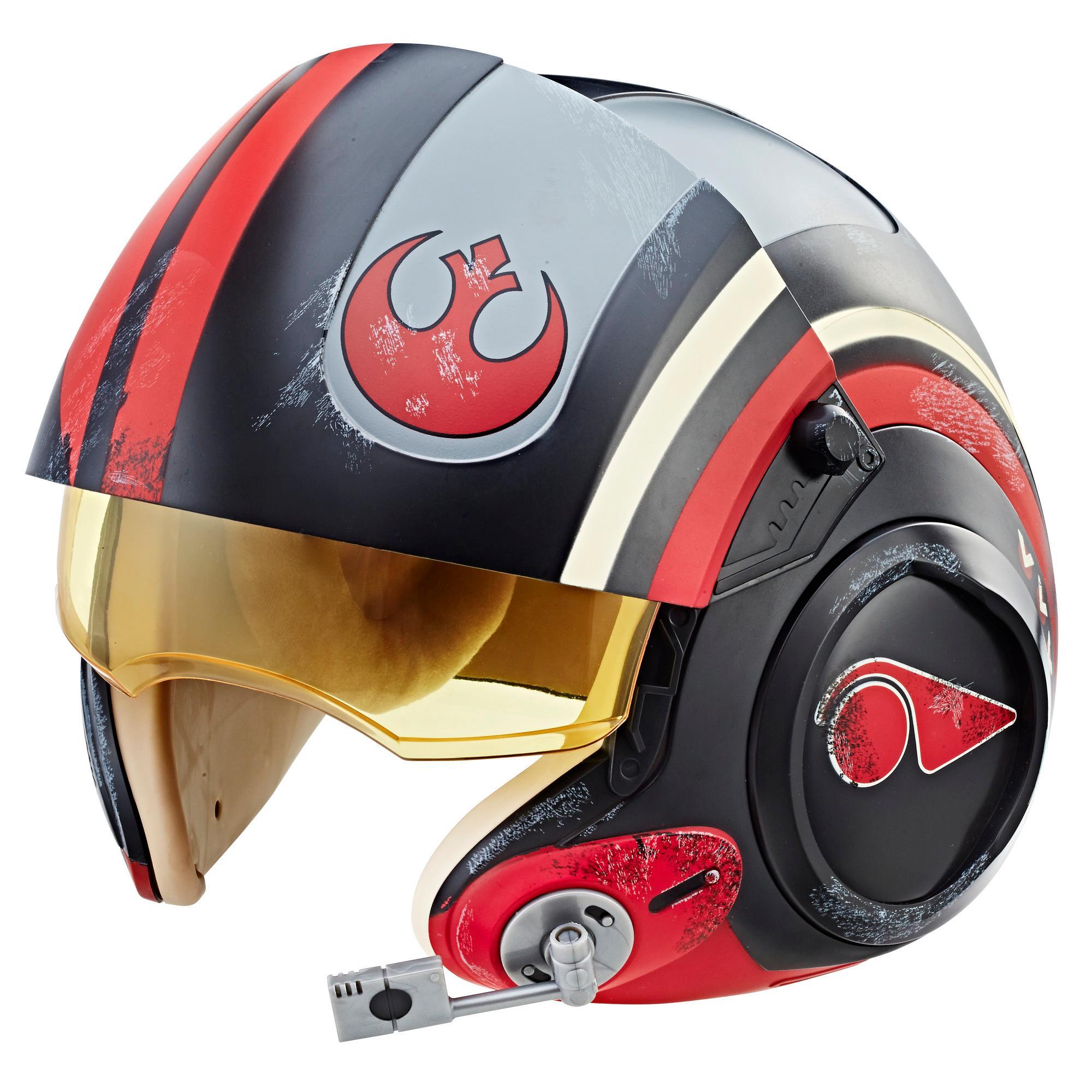 Star Wars The Black Series Poe Dameron Electronic X-Wing Pilot Helmet