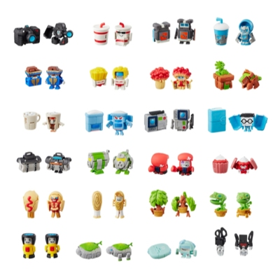 Transformers BotBots Series 1 Collectible Blind Bag Mystery Figure --  Surprise 2-In-1 Toy!