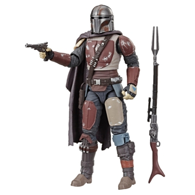 Star Wars The Black Series The Mandalorian Toy 6-inch Scale Collectible Action Figure, Toys For Kids Ages 4 and Up