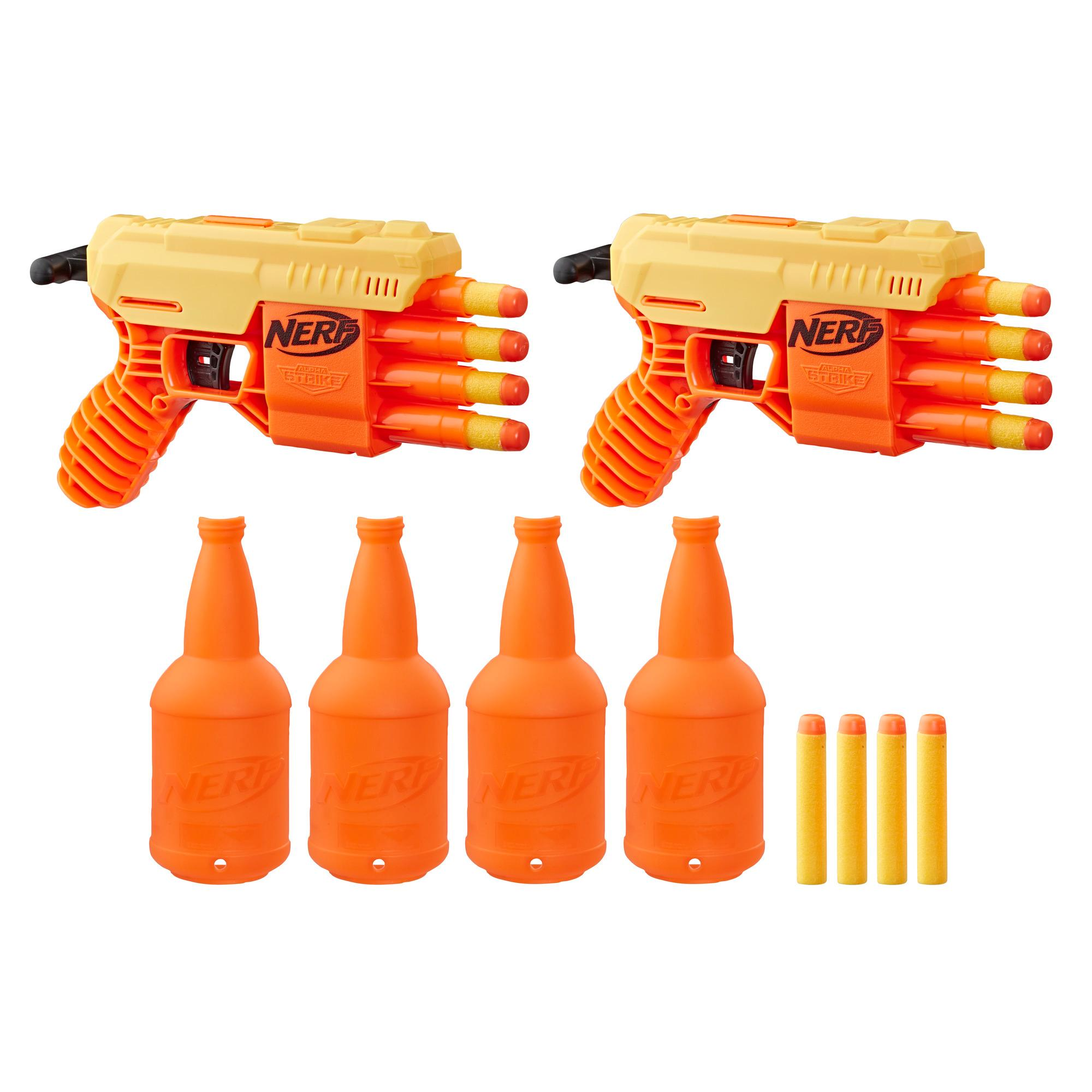 Fang QS-4 Dual Targeting Set -- 18-Piece Nerf Alpha Strike Set