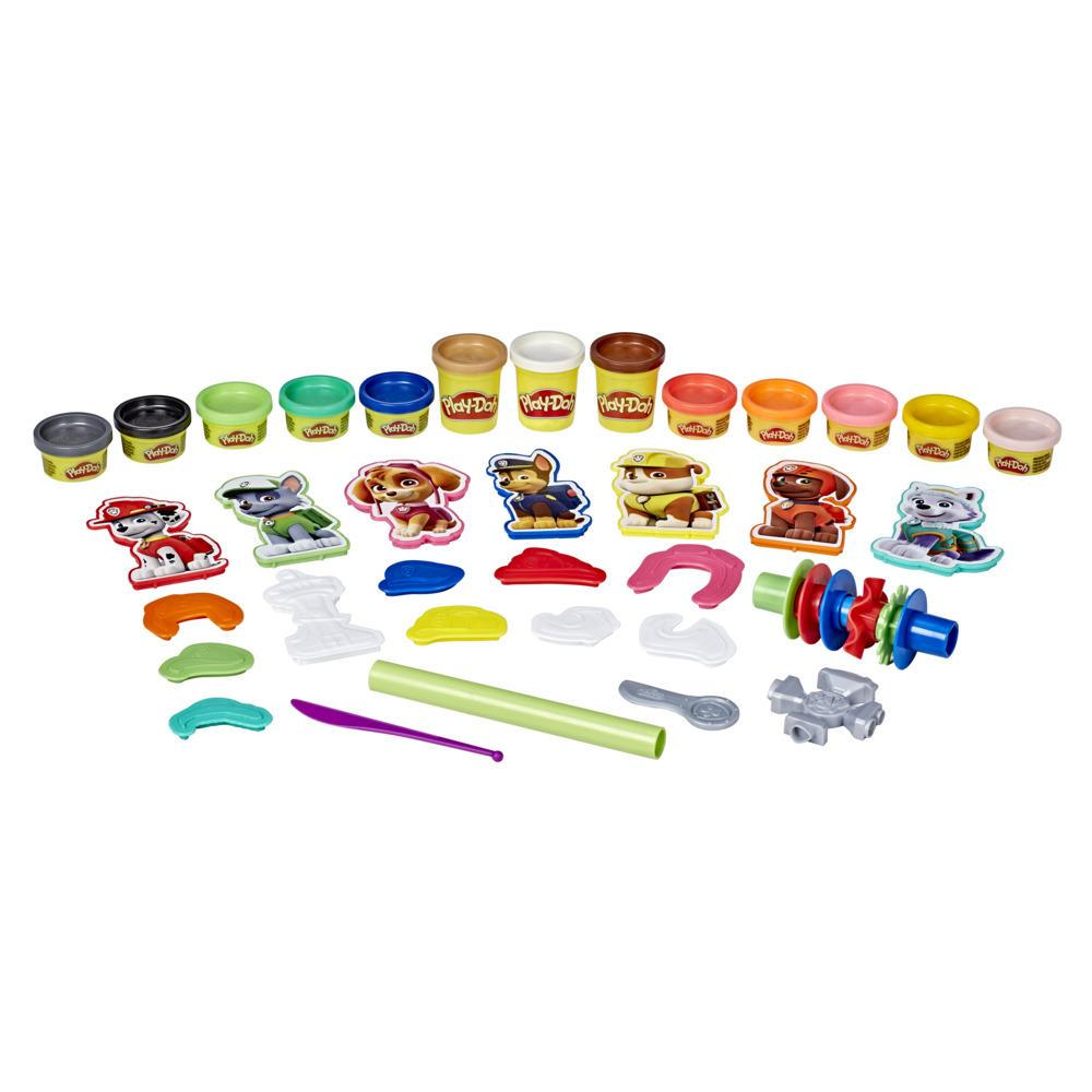Play-Doh PAW Patrol Hero Pack-leke med kunst og håndverk for barn med 13 giftfrie Play-Doh-farger