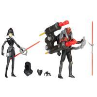 Star Wars Rebels Seventh Sister Inquisitor VS. Darth Maul