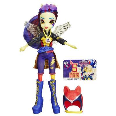 My Little Pony Equestria Girls Indigo Zap Sporty stil Motocross Doll