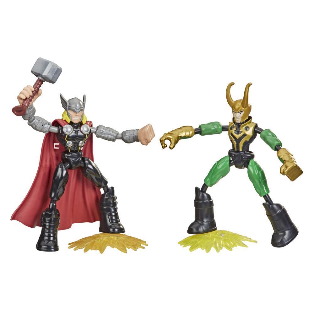 Marvel Avengers Bend and Flex Thor Vs. Loki