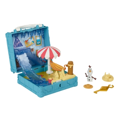 Disney Frozen Pop Adventures Olaf's Bedroom Playset With Handle, Including Olaf Doll and Accessories - Toy for Kids Ages 3 and Up