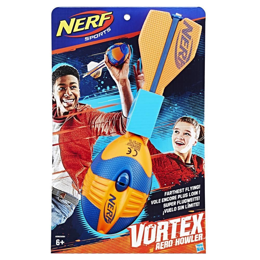Nerf Sports Aero Howler Football (Orange)