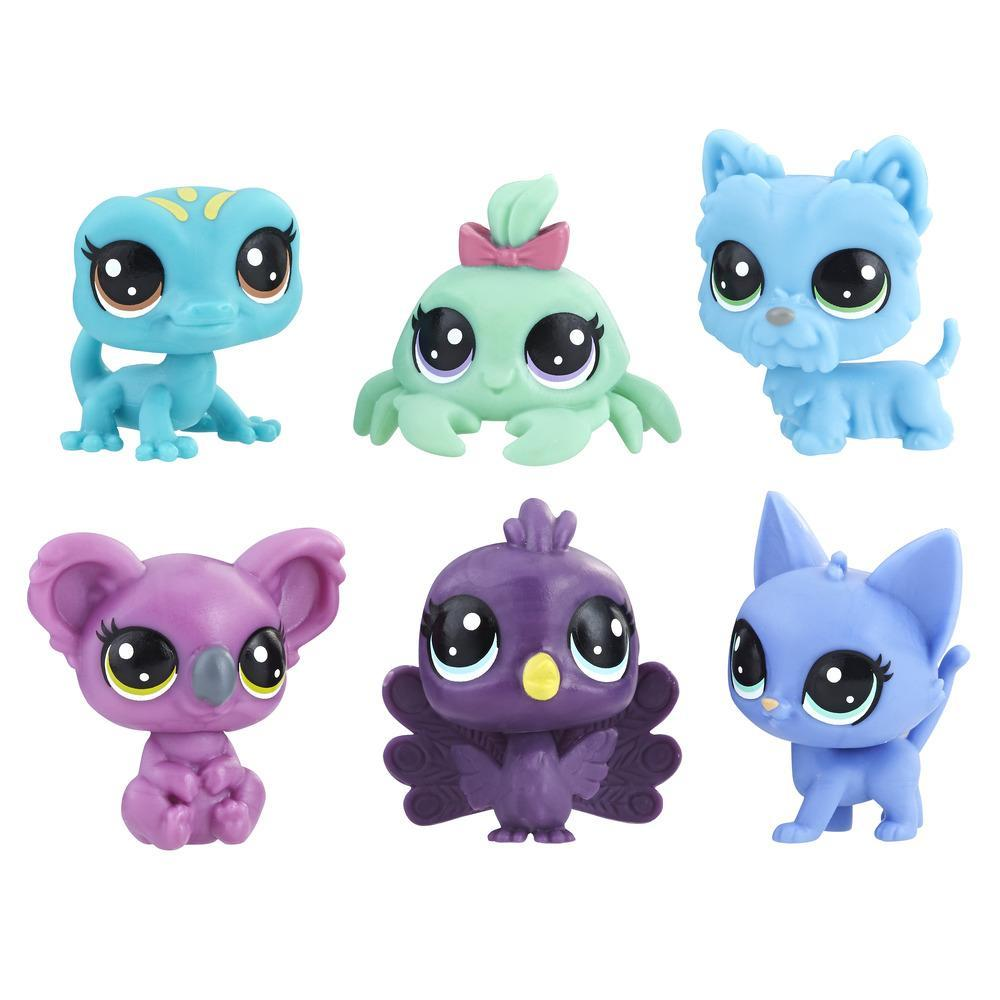 Littlest Pet Shop 6-Pet Collection Pack