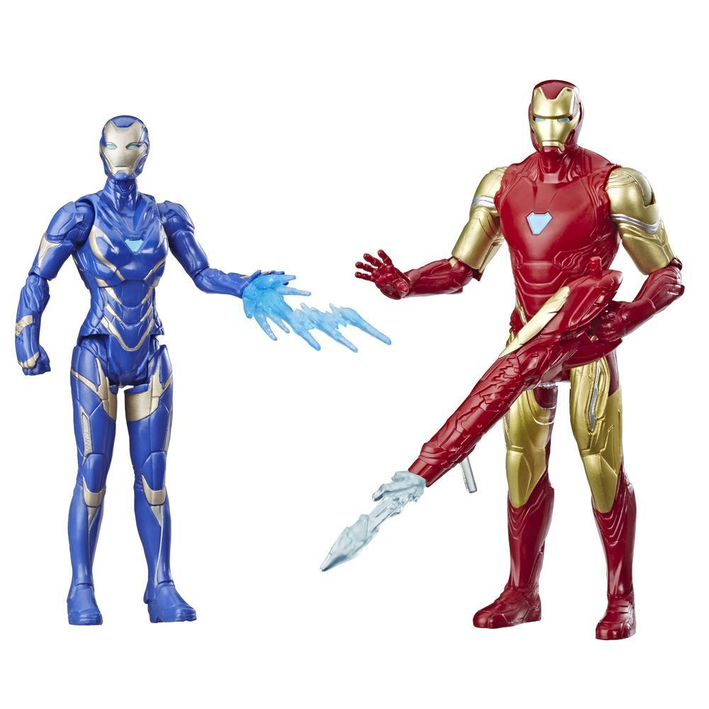 Marvel Avengers: Endgame Iron Man and Marvel's Rescue Figure 2-Pack