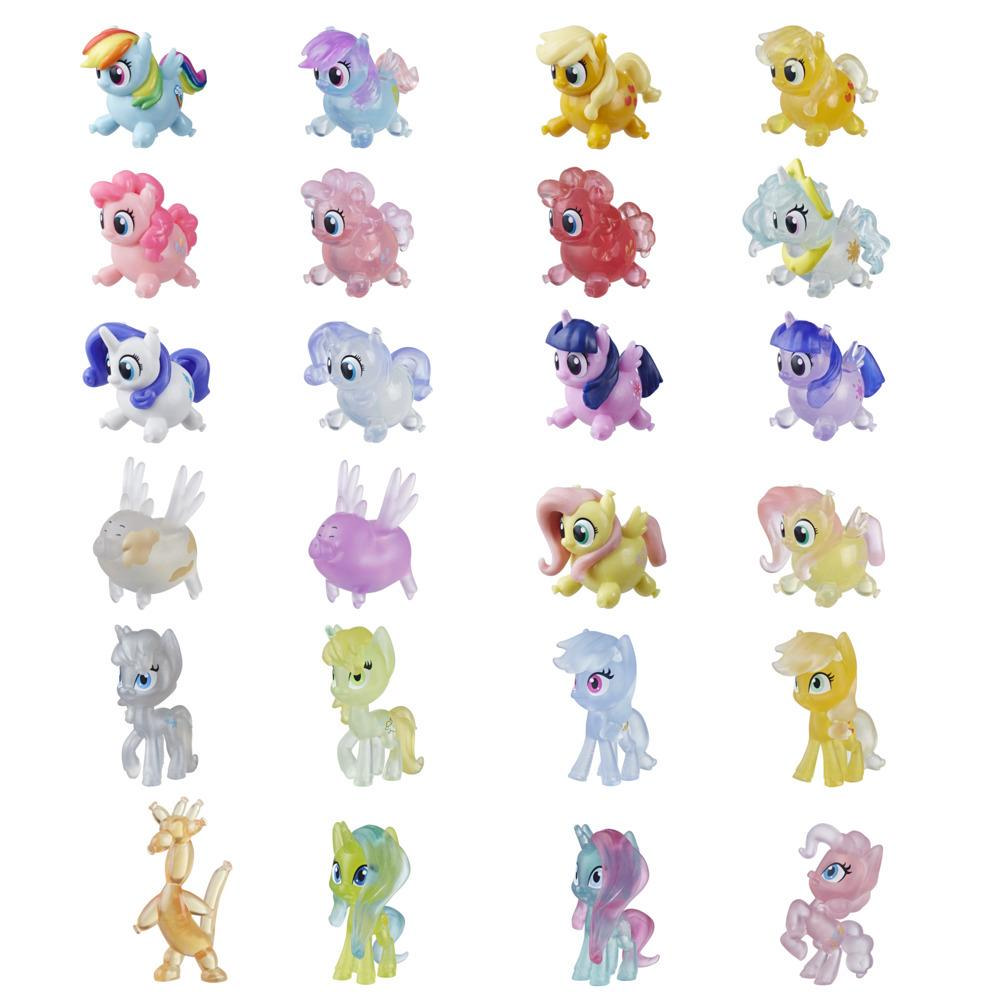 My Little Pony Magical Potion Surprise Blind Bag Batch 3: samlefigur med vannforvandling, 3,5 cm høy figur