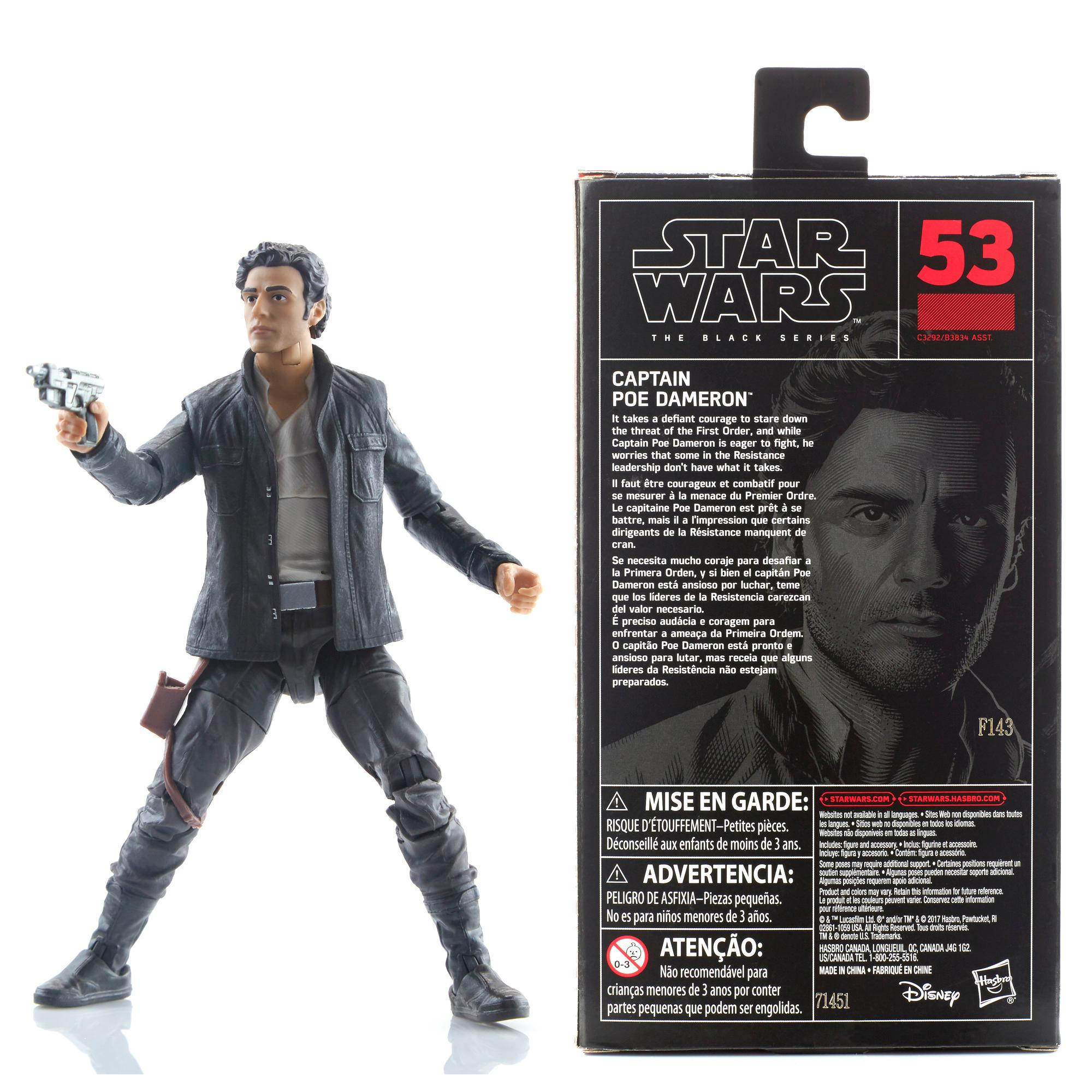 Star Wars The Black Series Captain Poe Dameron