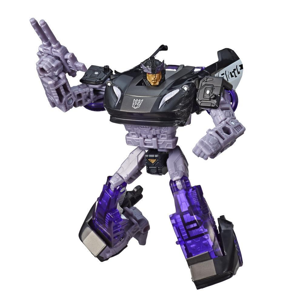 Transformers Generations War for Cybertron Deluxe WFC-S41 Barricade Figure
