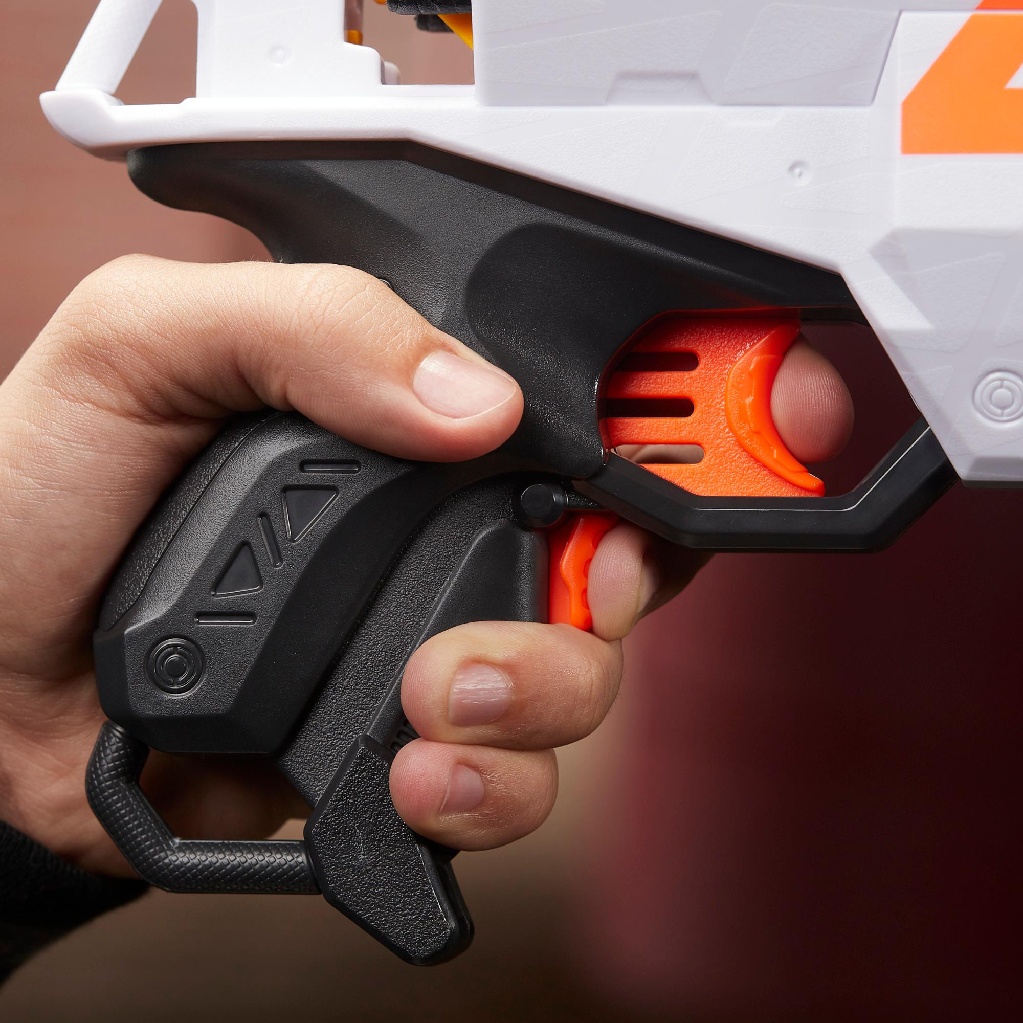 Motorisert Nerf Ultra Two-blaster – Rask omlading, 6 Nerf Ultra-piler – Kun kompatibel med Nerf Ultra-piler