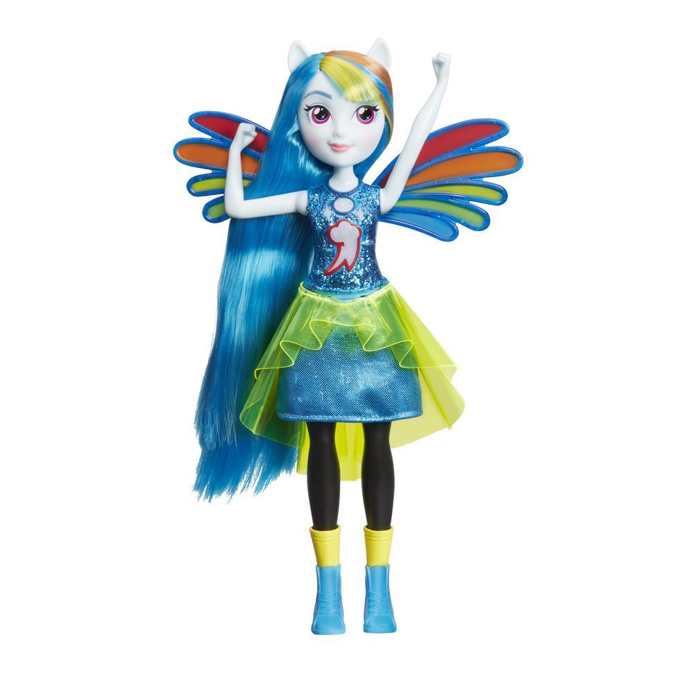 My Little Pony Equestria Girls Friendship Power Rainbow Dash