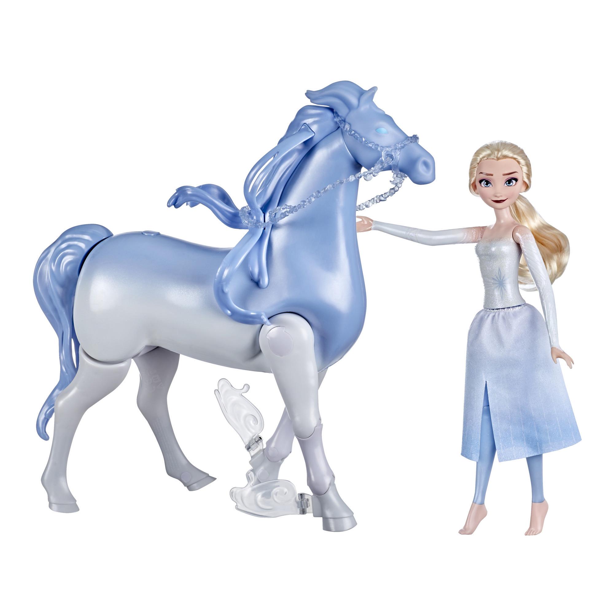 Disneys Frost 2 Elsa og Nokk som kan svømme og gå, barneleke, Frost-dukker inspirert av Disneys Frost 2