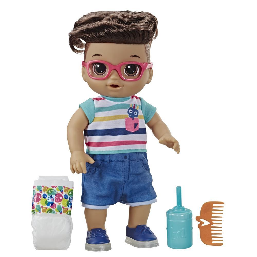 Baby Alive Step 'n Giggle Baby Brown Hair Boy Doll