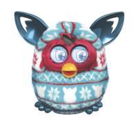 Furby Boom (Festive Sweater Pattern)