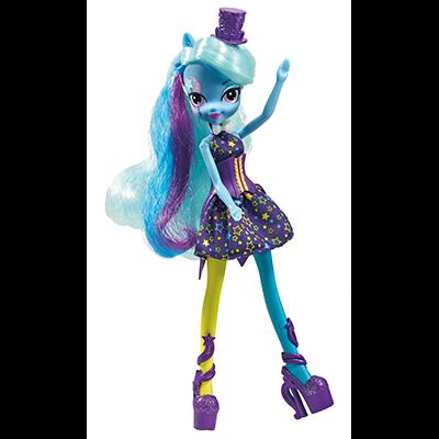 My Little Pony Equestria Girls Rainbow Rocks Trixie Lulamoon Doll with Fashions