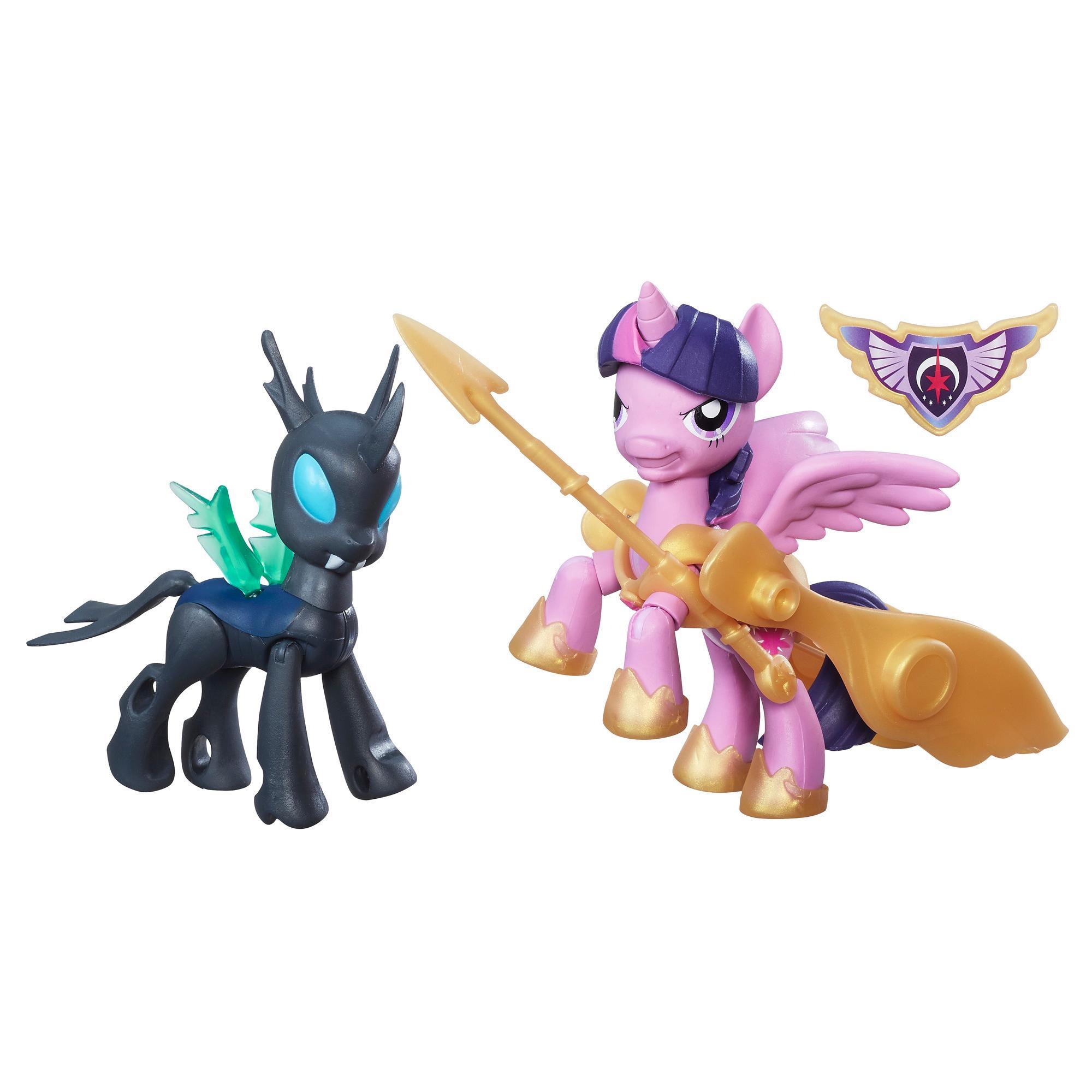 My Little Pony Guardians of Harmony Pogromcy Królowa Chrysalis i smok Spike