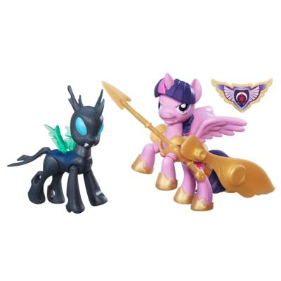 My Little Pony Guardians of Harmony Pogromcy Królowa Chrysalis i smok Spike