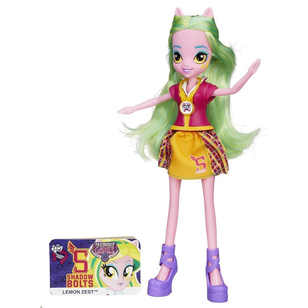 My Little Pony Equestria Lemon Zest Lalka Podstawowa Friendship Games