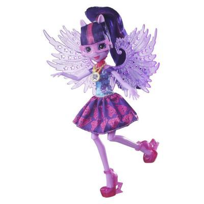 My Little Pony Equestria Girls Lalka Podstawowa Kryształowe Skrzydła Twilight Sparkle
