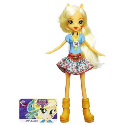 My Little Pony Equestria Girls Applejack Lalka Podstawowa Friendship Games