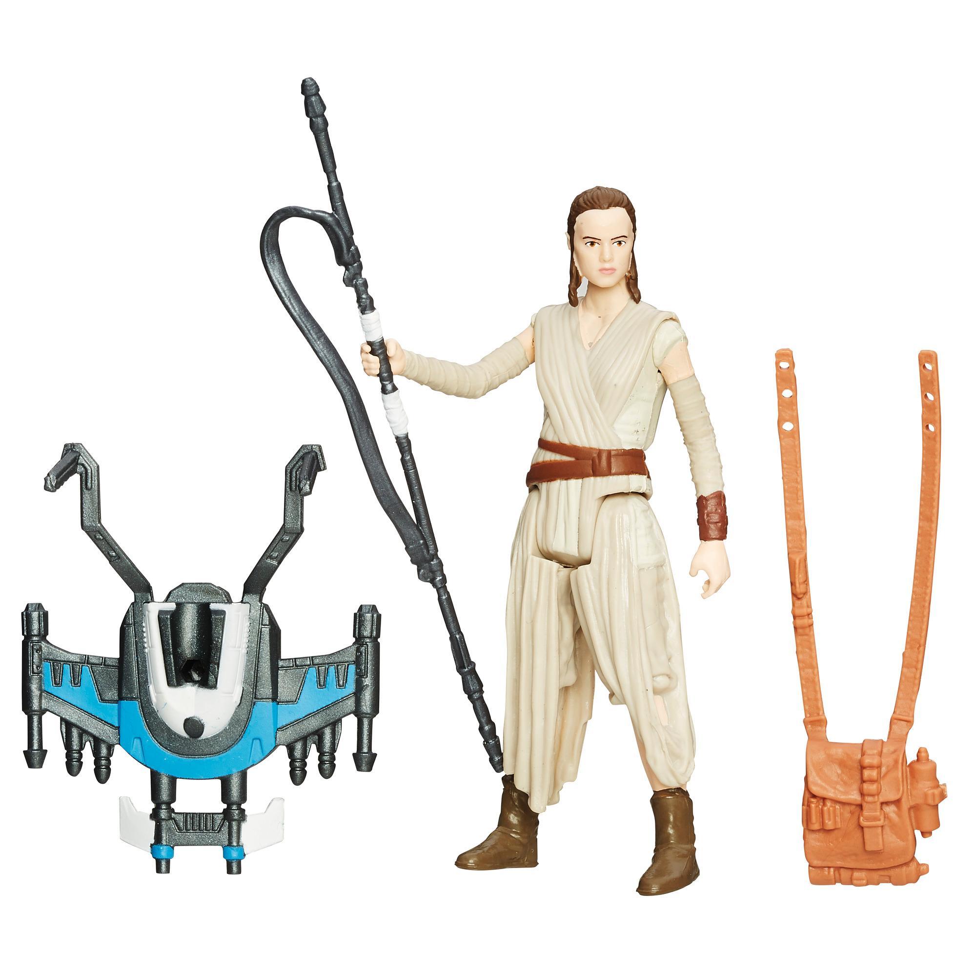 Gwiezdne wojny: Przebudzenie Mocy, 9,5-centymetrowa (3,75-calowa) figurka Rey — Śnieżna misja (Baza Starkiller)
