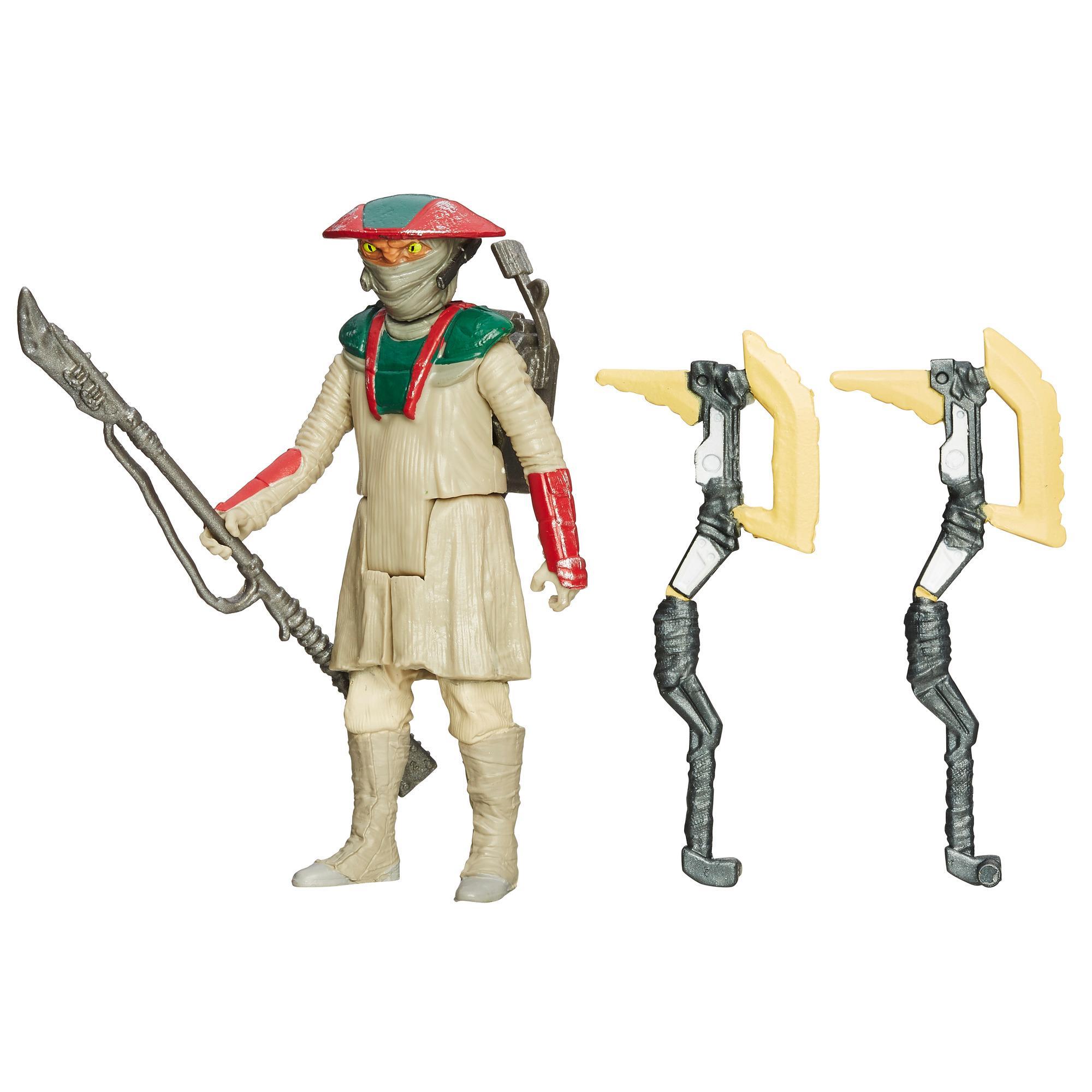 Gwiezdne wojny: Przebudzenie Mocy, 9,5-centymetrowa (3,75-calowa) figurka konstabla Zuvio — Pustynna misja