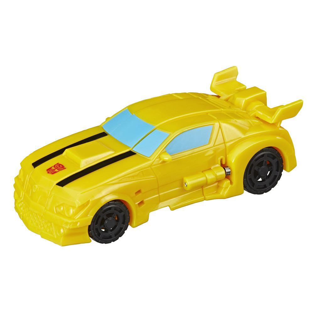 Transformers Cyberverse Action Attackers: 1-Step Changer Bumblebee Action Figure Toy