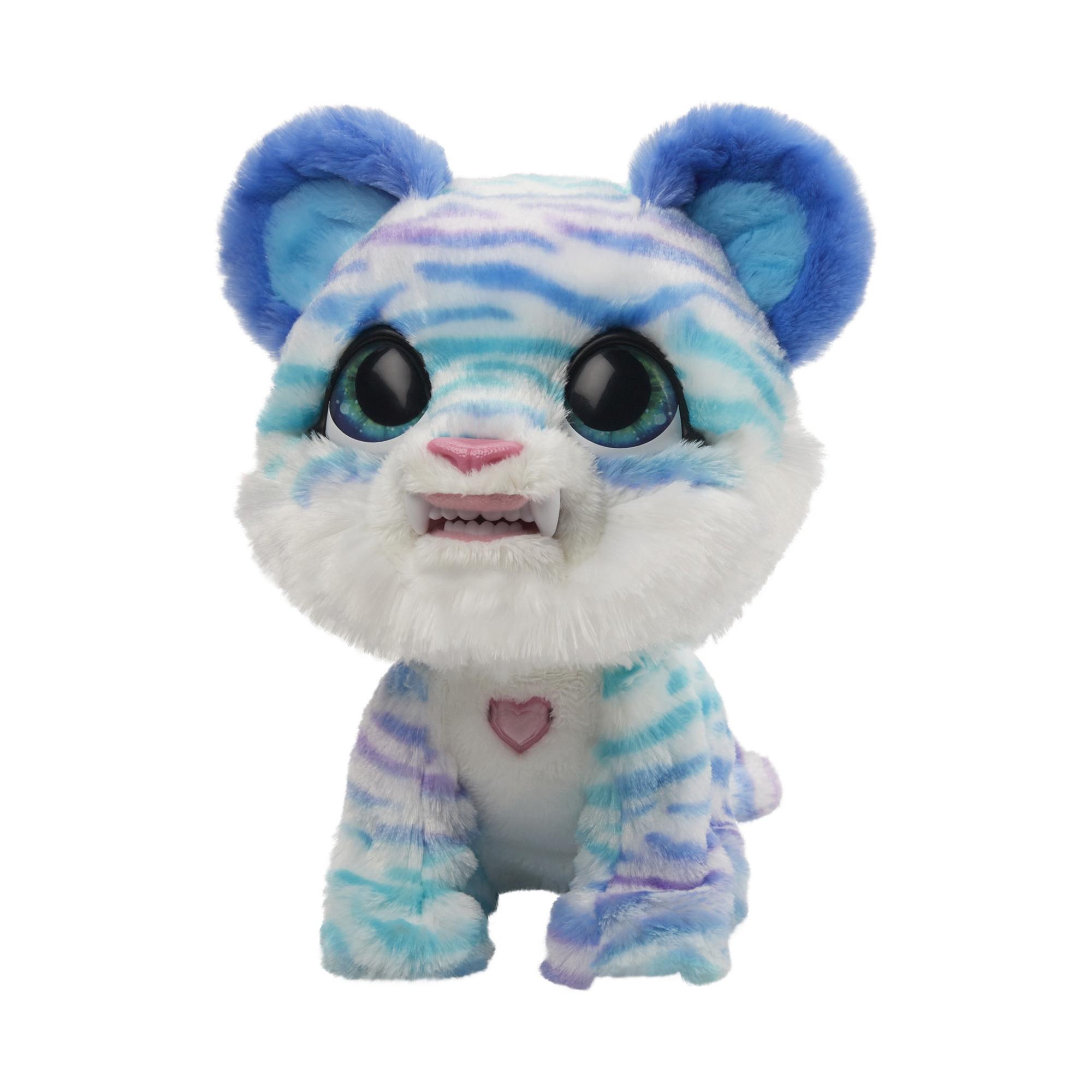 furReal Tygrysek szablozębny North, interaktywna zabawka-zwierzątko