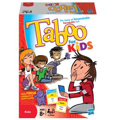 TABOO For Kids Game