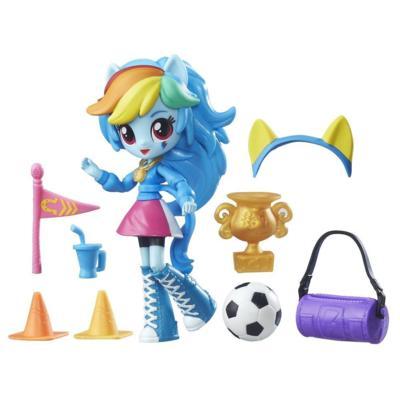 My Little Pony Equestria Girls Mini Lalki z Akcesoriami Rainbow Dash