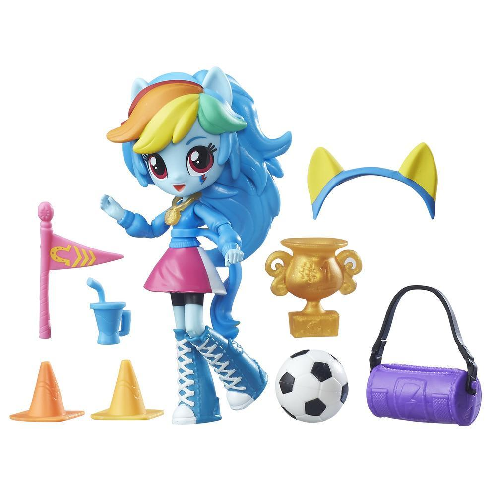 My Little Pony Equestria Girls Mini Lalki z Akcesoriami Rainbow Dash