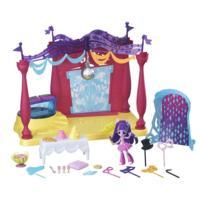 Cenário de Jogo com Boneca Minis Canterlot High Dance Equestria Girls do My Little Pony