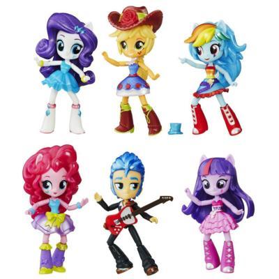 My Little Pony Equestria Girls Minis Coleção Festa no colégio