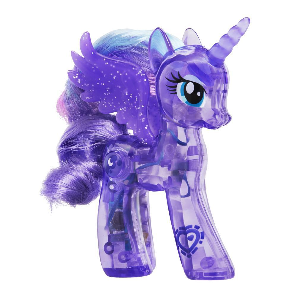 My Little Pony Explore Equestria - Brilho luminoso Princesa Luna 9 cm
