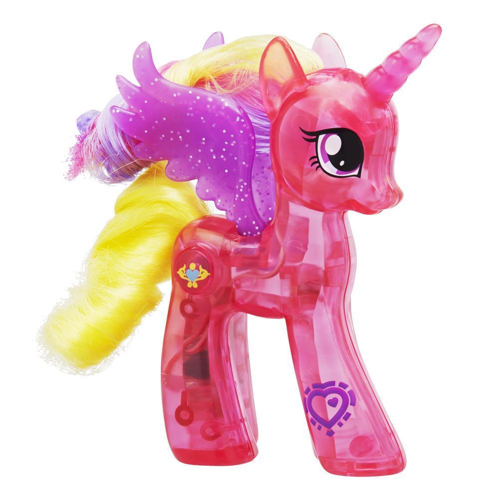 My Little Pony Explore Equestria - Brilho luminoso Princesa Cadance 7,5 cm