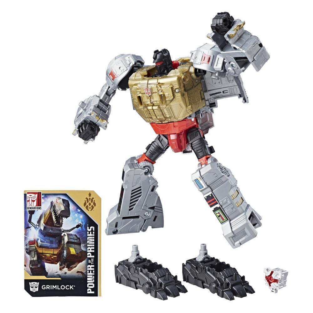 Transformers: Generations Power of the Primes - Grimlock classe voyager