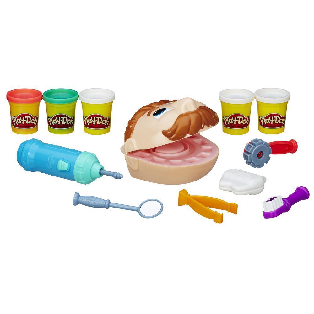 Conjunto Dentista Aniversário Play-Doh