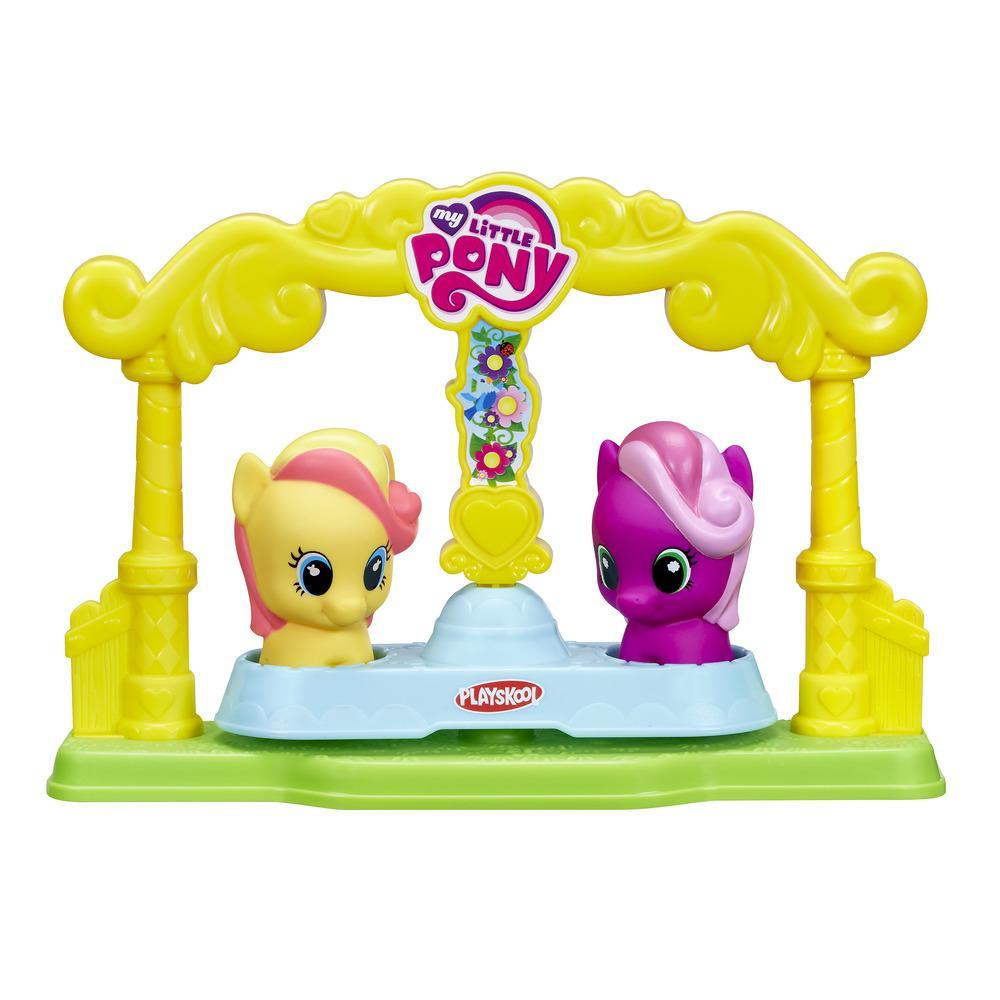 Conjunto Playskool My Little Pony Gira-Gira